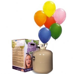 "9"" Helium Balloon Kit - 1-Colour Kit"